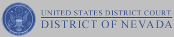 US District Course Nevada Logo